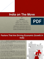 India on move