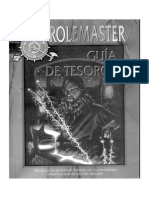Rolemaster - Guia de Tesoros