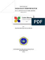 Modul Program C++ Codeblocks (revisi 1)