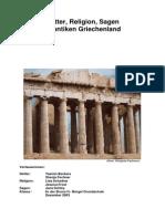 Antikes Griechenland-Goetter, Sagen Und Religion