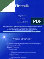 Firewalls (11)