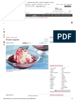 Receita de Frozen Iogurte - Culinária - MdeMulher - Ed
