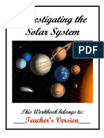 Evelyn's Worksheets Teachers-The Solar System