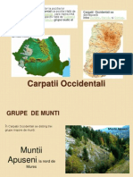 Carpatii Occidentali