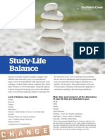 SCU Counselling - Tip Sheet 3 - Studylife Balance