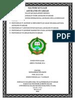 Materi Kuliah Asuransi Syariah