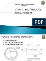 Displacement Velocity Transducer