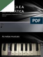 A Música e a Matemática