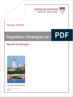 Negotiation Strategies for Women