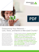 Outsourcing Your Network - Lock, Stock, And Barrel or Bite-sized Chunks Latest Thining