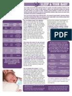 Sleep and Your Babyfinal