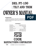 CMC PT-130 Owners Manual