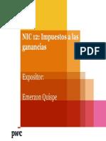 NIC 12 ImpLLuestos a Las Ganancias 18.11.2014