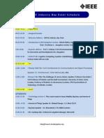 2014 IEEE Industry Day Pgm Schedule Ver 2