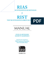 Extracto Manual RIAS RIST