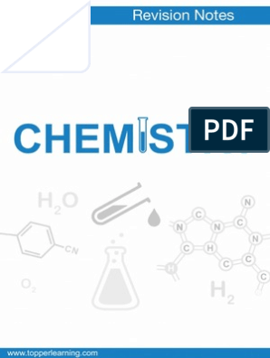 Revision Notes for Class 12 CBSE Chemistry, Alcohols