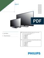 Manual Pantalla 50pfl4909 f8 Dfu Lsp
