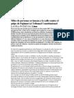 Golpe de Fujimori Al Tribunal Constitucional. Por Laura Puertas
