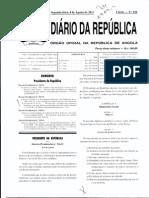 Lei Bases Politica Concessao Direitos Terras Dec Presid 216-11