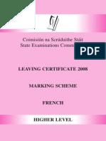 2008marking scheme
