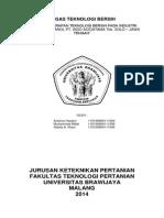 Tugas Teknologi Bersih New