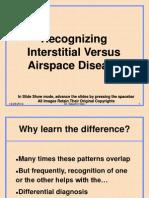 Interstitial vs Air Space