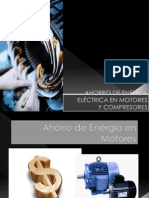 Ahorro de Energc3ada Elc3a9ctrica en Motores y Compresores