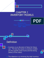 Chapter 1 - Inventory Models - Part 1