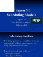 Chapter 6 - Scheduling Algorithm