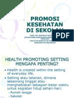Promosi Kesehatan Di Sekolah
