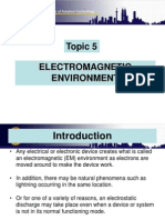 Topic 5 Electromagnetic Environment