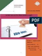 Audit Qualite Processus