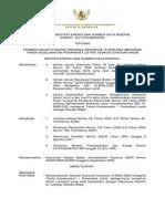 Kepmen-207-2003 Mengenai Tanda Keselamatan Pemanfaatan Listr