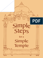 Simple Steps for a Simple Temple