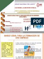 Marco Legal Para Organizar Una Empresa