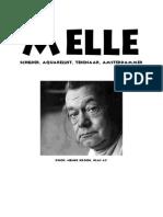 MELLE - Schilder, Aquarellist, Tekenaar, Amsterdammer