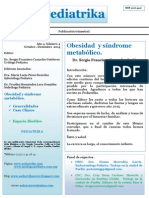 Pediatrika Oct - Dic 2014 / OBESIDAD