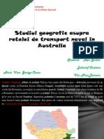 Studiul Geografic Asupra Retelei de Transport Naval In