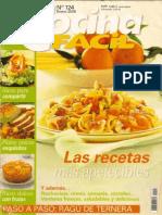 Cocina Fácil 124 - Las recetas más apetecibles.pdf