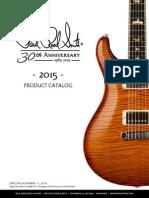 PRS 2015 Catalog