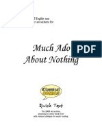 Much Ado About Nothing Comic