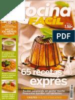 Cocina Fácil 147 - 65 recetas exprés.pdf