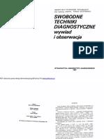 Swobodne TSwobodne techniki diagnostyczne ( T_ Szustrowa )echniki Diagnostyczne ( T_ Szustrowa )