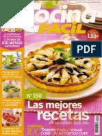 Cocina Fácil 150 - Las mejores recetas.pdf