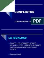 Manejo de Conflictos Presentación
