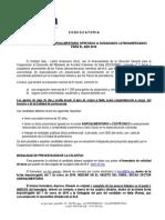 Convocatoria Sector Agroalimentario 2015