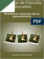 Chuletas de Filosofia Descartes - Javier Echegoyen