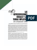 Teorías Implícitas y Representaciones Sociales_comparación Crítica