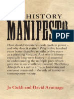 Guldi & Armitage - 2014 - The History Manifesto