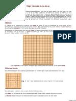 Règles du jeu de go